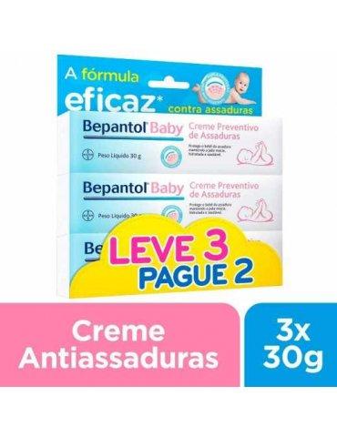Kit Creme para Assadura Bepantol Baby com 3 Unidades